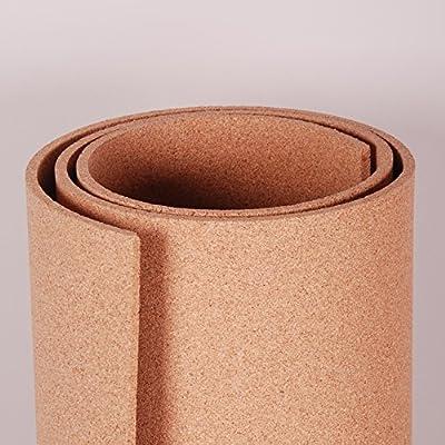 """Natural Cork Roll 4' x 3' x 3/8"""""""