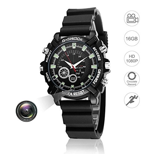 Hidden Watch Video Camera 16GB DVR Multifunctional for sale  Delivered anywhere in USA
