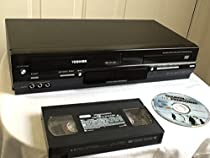 Toshiba SD-V295KU Tunerless DVD/VCR Deck Player Recorder COMBO. VHS & CD Player. AV Cable Included. No Remote