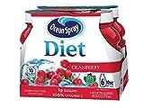 Ocean Spray Diet Juice Drink, Cranberry, 10 Ounce Bottle (Pack of 6)