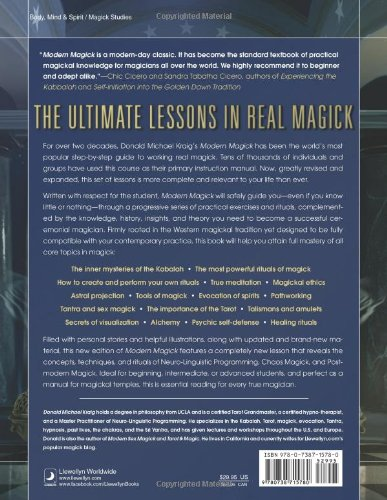 Modern Magick: Twelve Lessons in the High Magickal Arts: Donald