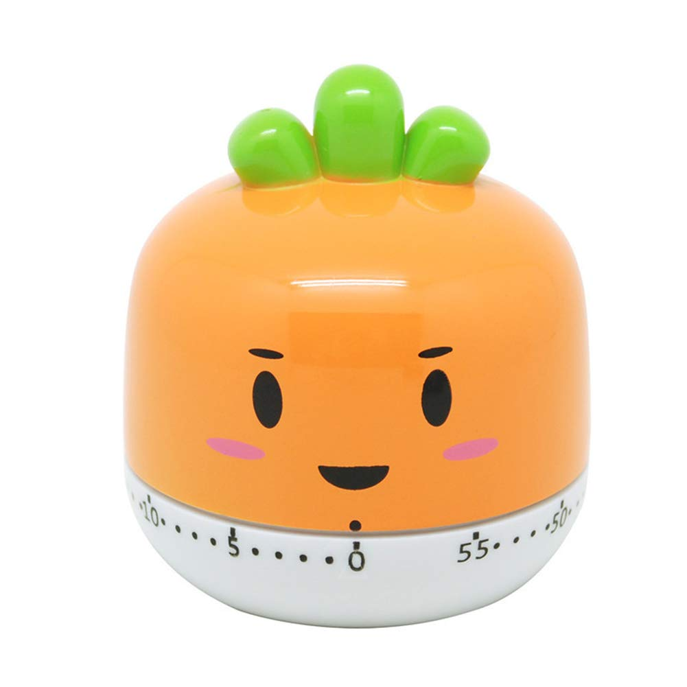 Lumanuby. Temporizador de Dibujos Animados de Frutas Vegetales Forma Juguetes para niños Decoracion de Escritorio Temporizadores de Cocina mecánico