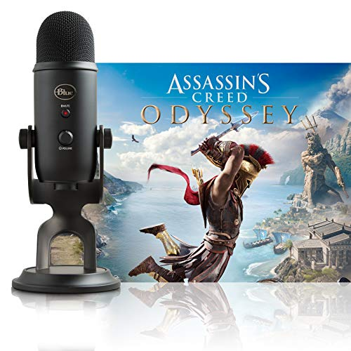 Blue Yeti Blackout + Assassin's Creed Odyssey Bundle
