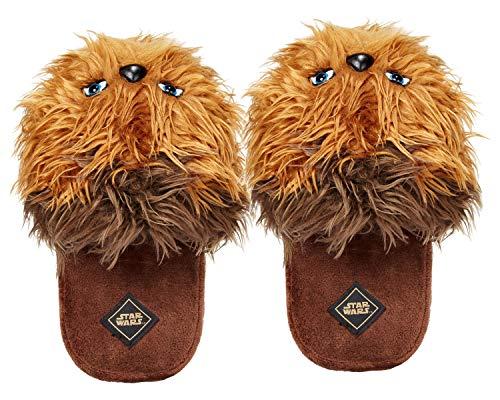 Star Wars Chewbacca Men's 3D Character Plush Slippers