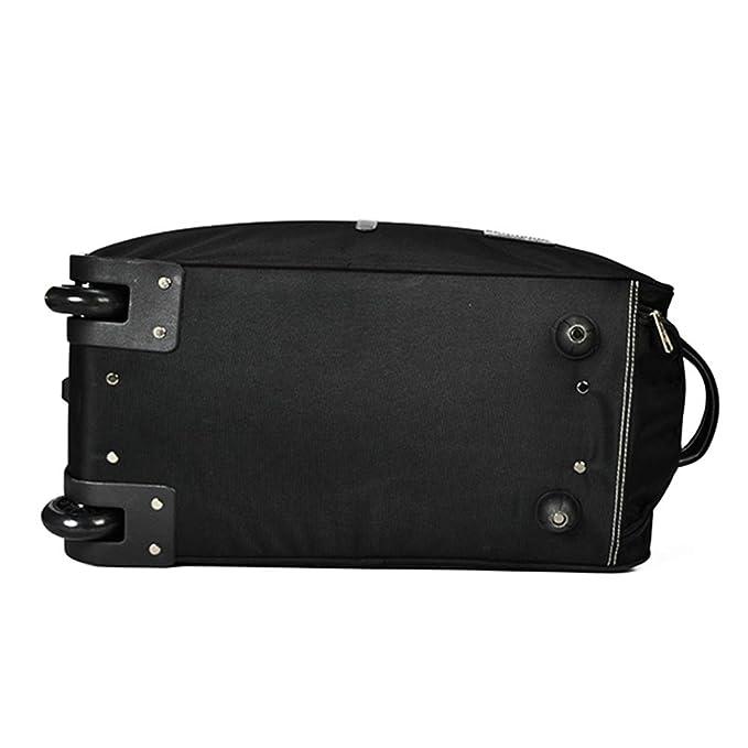 Amazon.com: Maleta con ruedas para equipaje de viaje, ligera ...