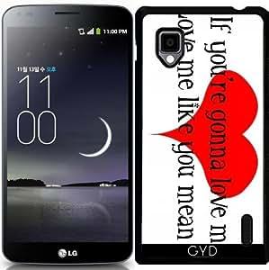 Funda para LG Optimus G (E975) - Amarme Como Lo Que Significa by loki1982