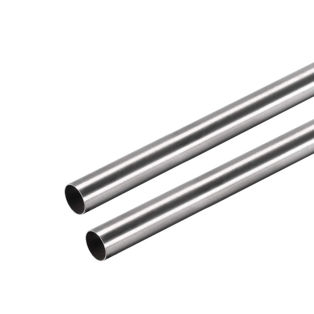 uxcell 304 Stainless Steel Round Tubing 9mm OD 1mm Wall Thickness 250mm Length Seamless Straight Pipe Tube 4 Pcs
