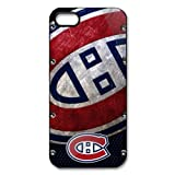 Generic NHL Montreal Canadiens Cell Phone Back Case for iPhone 5/5S