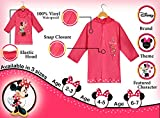 Disney-New-Minnie-Mouse-Girls-Pink-Rain-Slicker-Size-Small-23-Medium-45-and-Large-67