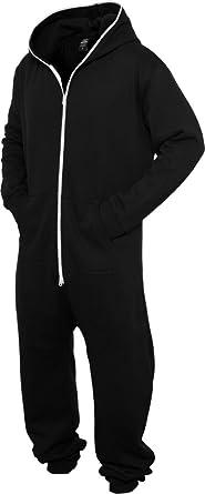 Urban Classics - Grenouillère - Homme - Noir - Blk Wht - XL  Amazon ... 4b80918576e5