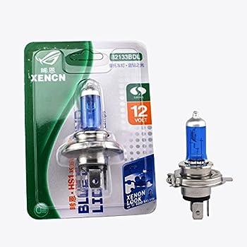 Xencn Hs1 P43t 12v 35/35w 3800k to 5300k Xenon Blue Motorcycle Bulb Motor Light, (Pack of 1)