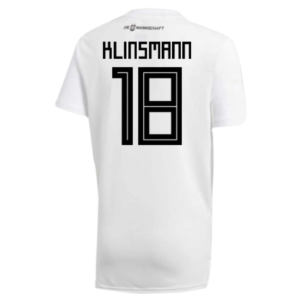 2018-19 Germany Home Training Football Soccer T-Shirt Trikot (Jurgen Klinsmann 18)