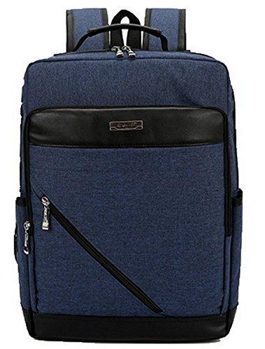 Sacs de FBUFBD181034 Daypacks randonnée Bleu Daypack Mode dos Femme à AllhqFashion Zippers qtUU68