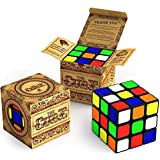 The Cube: Super-Durable with Vivid Colors 3x3x3 Cube; Easy Turning and Smooth Play Comes with Amazing Cube Solver Apps for iPhone and Ipad.