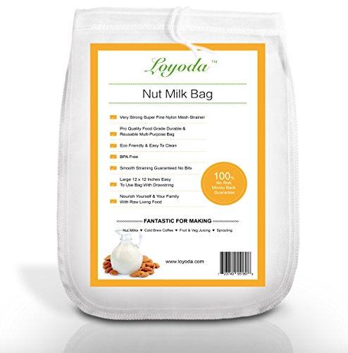 Loyoda Nut Milk Bag Large 12