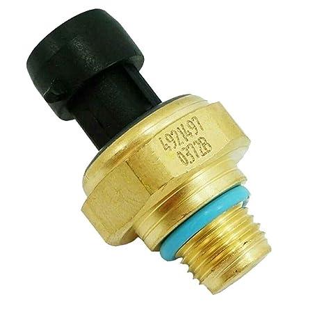 Mengonee metal del sensor de presión de aceite Automóviles 4921497 coche del transductor de presión de