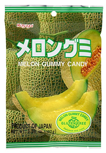 Melon Gummy (Kasugai Melon Gummy Candy 3.59oz (3 Pack))
