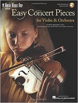 Amazon com: Easy Concert Pieces for Violin & Orchestra