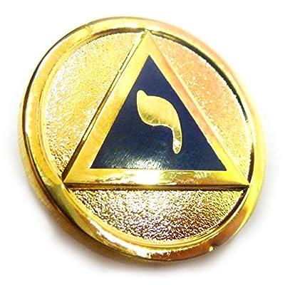 Top YOD Lodge of Perfection 14th Degree Scottish Rite Masonic Freemason Lapel Pin for sale