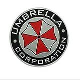 Salusy Umbrella Corporation Aluminium Decal Badge Emblem for Universal Cars