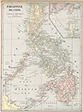 Wall Art Print entitled Vintage Map Of The Philippine Islands (1901) by Alleycatshirts @Zazzle | 16 x 21