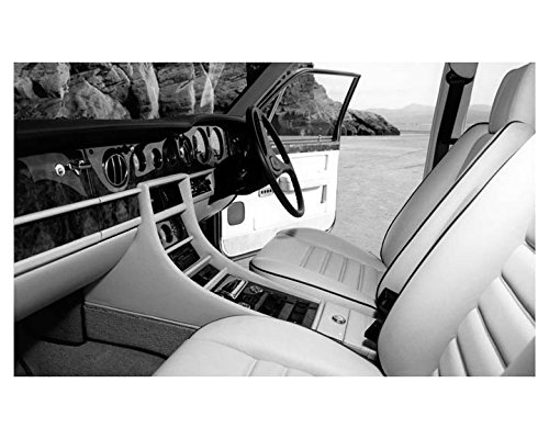 1987 Bentley Turbo R Interior Automobile Photo Poster