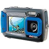 Easypix W1400 Aquapix Active Digitale Onderwatercamera (14 Megapixel, 6,8 Cm (2,7 Inch) Dual Display, 4-Voudige Zoom…