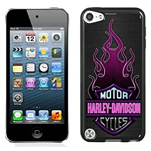 Beautiful And Unique Designed Case For iPod Touch 5 With Harley Davidson Motor Company Phone Case
