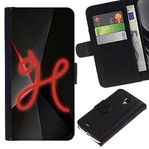 KingStore / Leather Etui en cuir / Samsung Galaxy S4 Mini i9190 / H
