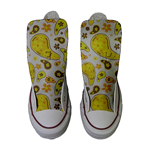 Converse All Star Customized Unisex - zapatos personalizados (Producto Artesano) Hippie Paisley