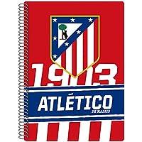 Atlético de Madrid- Cuaderno tamaño Cuarto 80 Hojas (CYP LC-03-ATL)