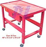 1000LB Transmission Tear Down Mechanic Table Work Bench