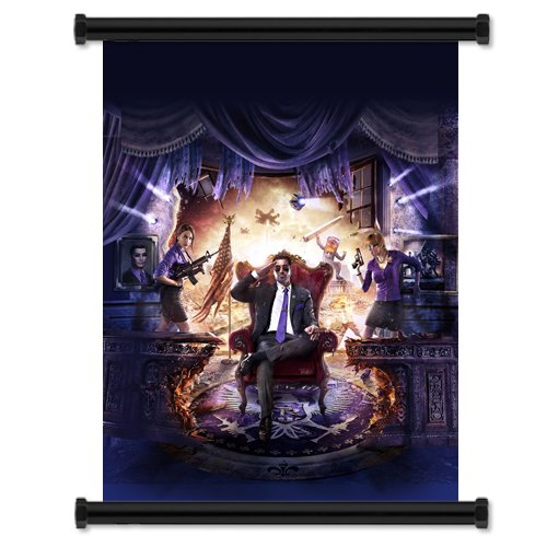 Saints Row IV 4 Game Fabric Wall Scroll Poster