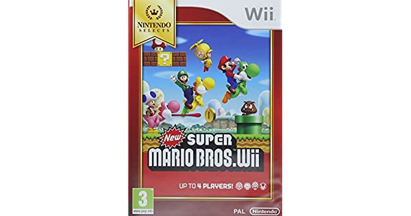 Nintendo Selects New Super Mario Bros.Wii, Juego: Amazon.es ...