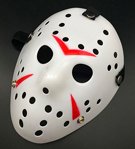 Gmasking Friday The 13th Horror Hockey Jason Vs. Freddy Mask Halloween Costume Prop (Jason Vorhees Mask)