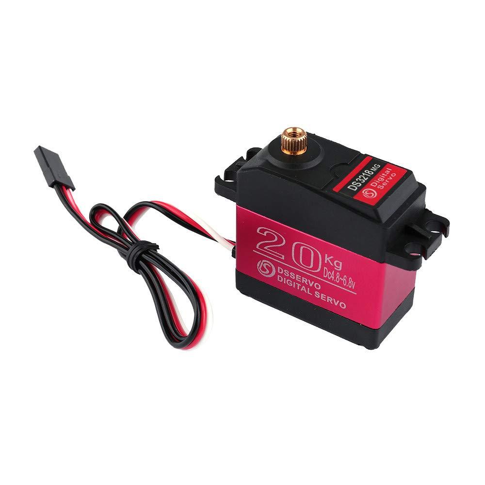 TianranRT DS3218 270 Grad Digital RC Servo 20KG Drehmoment Wasserdicht Metall RC Servo Motor