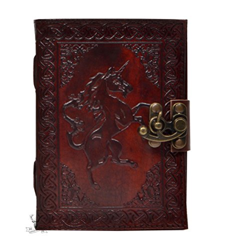 New Genuine Vintage Handmade Leather Journal Celtic Horse Design Leather Journal Antique Ferrari Logo Journal Diary & - New Ferrari Logo