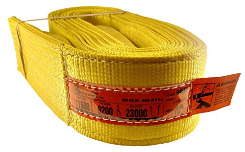 2 Ply Web Sling - DD Sling. Multiple Sizes In Listing (Made in the USA) 4