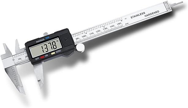 CALIBRE DIGITAL PIE DE REY VERNIER ACERO 150 mm ...