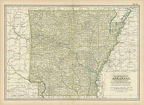 Amazon.com: Arkansas Map Bracelet West Memphis AR USA States ...