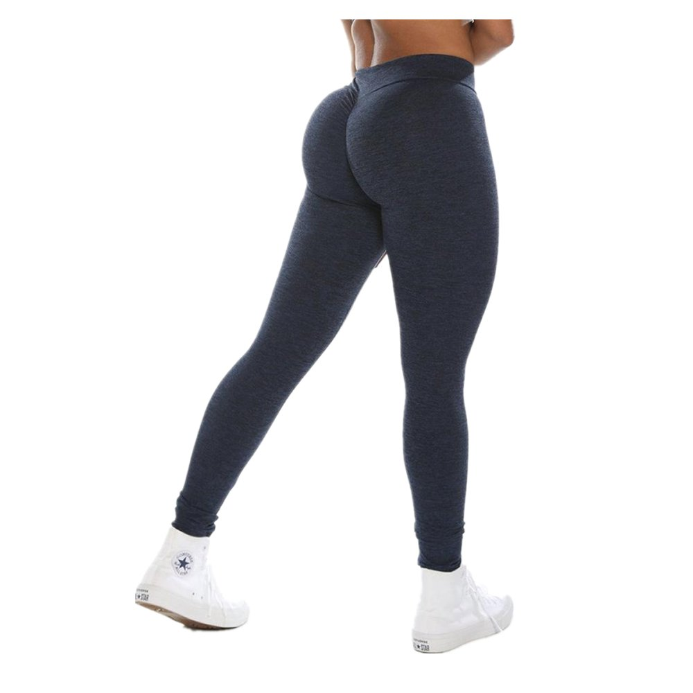 77af5d34d154e 2019 New Women's Butt Lift Leggings Super Soft Yoga Pants High Waist Skinny  Sports Fitness Pants by E-Scenery at Amazon Women's Clothing store: