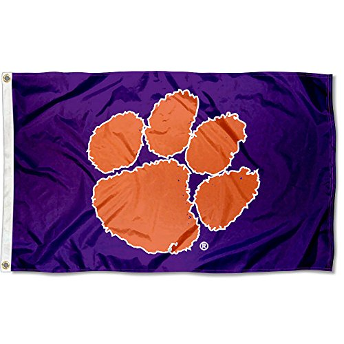 (Clemson Tigers University Large College Flag)