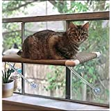 Ultimate Cat Perch - No Hanging Wires & Stronger for Increased Reliability (Holds 80 pounds)