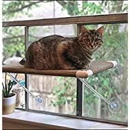 Ultimate Cat Perch – No Hanging Wires & Stronger for Increased Reliability (holds 80 pounds)
