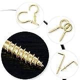 213Pcs 3 Kinds Metal Hooks Kit, Including Screw
