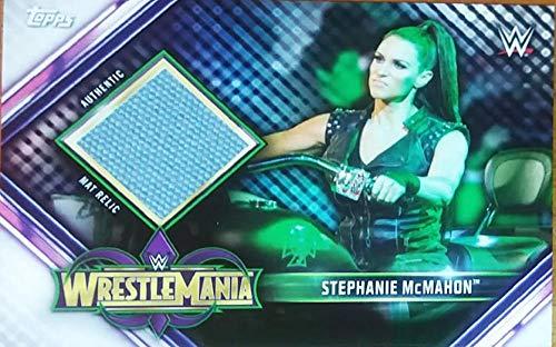 2019 Topps Road to WrestleMania Mat Relics #MR-SMC Stephanie McMahon NM-MT MEM WrestleMania 34 Wrestling from Road to WrestleMania