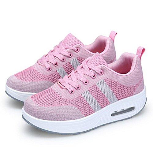 Comfort de Mujeres Gimnasia Casuales Zapatillas Zapatos CAI Zapatillas de Slip para Fitness de tal Tenis On Mujeres para relajantes Zapatos Caminata dtv7qqwyY