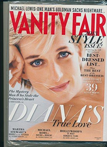 Vanity Fair Magazine (September 2013) Princess Diana (Diana's True (Vf Vanity Fair)