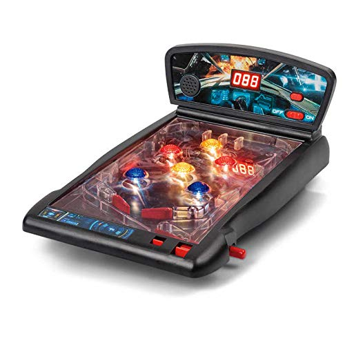 Retro Tabletop Space Pinball Game - Boxed