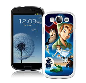 Hot Sale And Popular Samsung Galaxy S3 I9300 Case Designed With peter pan White Samsung Galaxy S3 Phone Case